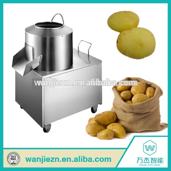 Potato peeler machines